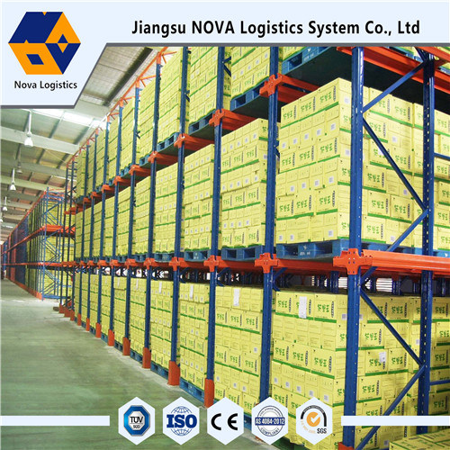 Hard Drive-Through Steel Racking Stabil Dari Jiangsu Nanjing Nova Company