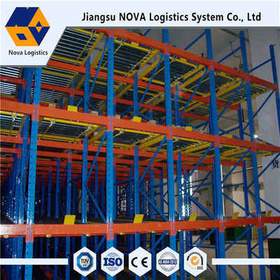 Heavy Duty Gravity Pallet Racking Dari Nova