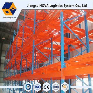 Tugas Berat Push Back Pallet Racking From Nova System